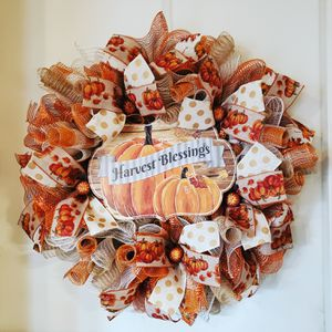 Fall Harvest Blessings Wreath for Sale in Victoria, TX