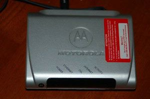 AT&T Motorola DSL Modem for Sale in Wichita, KS
