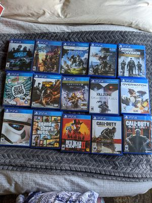 PlayStation 4 PS4 used games for Sale in Colma, CA