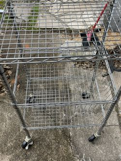 Rolling Cart Shelf for Sale in Seabrook,  TX