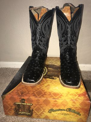 black square toe boots for Sale in Aurora, CO