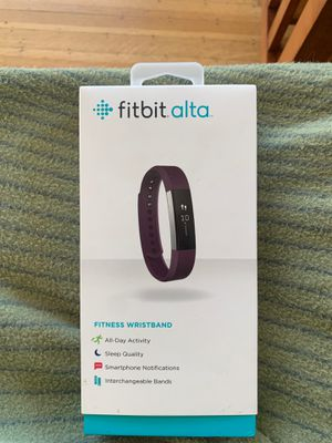 Fitbit Alta- fitness wristband for Sale in Denver, CO