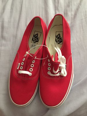 Red vans shoes for Sale in Salt Lake City, UT