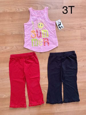 Lot of 3 pieces of girl's clothing, size 3T, $5 total for everything, kids clothes for Sale in Surprise, AZ
