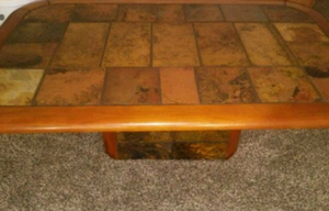 Stone table and end tables for Sale in Salt Lake City, UT