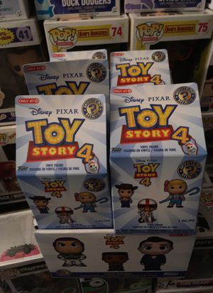 Funko toy story 4 mystery mini case of 12 target exclusive vinyl figures for Sale in Revere, MA