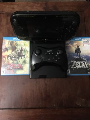 Wii U 32GB Legend of Zelda Edition for Sale in San Francisco, CA