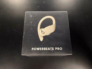 NEW Powerbeats Pro (Ivory) Wireless Earbuds for Sale in Seattle, WA