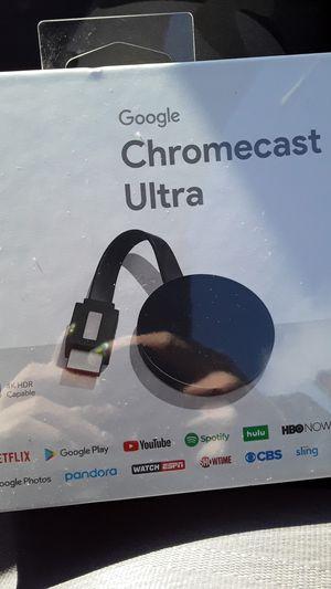 Chromecast Ultra for Sale in Bellevue, WA