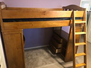 Ashley Loft Bed (Twin) for Sale in Niederwald, TX