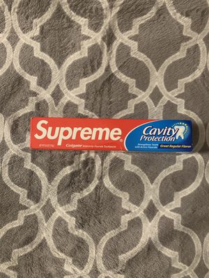 Supreme x Colgate Toothpaste Collectable for Sale in West Covina, CA