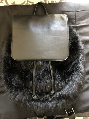 Fur Black Backpack for Sale in Hawthorne, CA