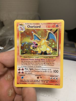 Base Set Charizard Pokemon Card for Sale in Issaquah, WA