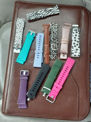Fitbit versa bands and faces for Sale in Houston, TX
