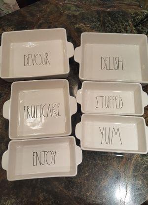 Rae Dunn Bake Dish Starter Set - 6 count for Sale in Sanger, CA