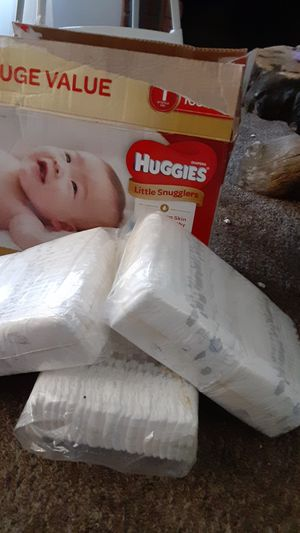 Huggies diapers size..1 for Sale in San Diego, CA