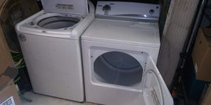 King size Whirlpool washer & king size Kenmore dryer as set. for Sale in North Miami Beach, FL