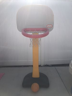 Basketball Hoop and Ball for Sale in Costa Mesa, CA