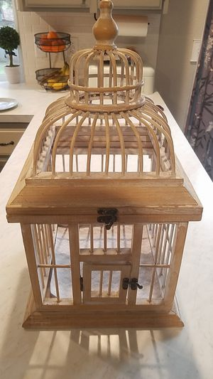 Decorative bird cage for Sale in Roy, WA