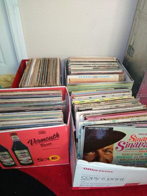 Boxes of GOOD records for Sale in Monrovia, CA