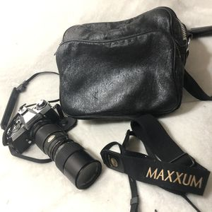 Minolta XD5 Camera + Lens + Bag Vintage Old Lot Bundle for Sale in Phoenix, AZ