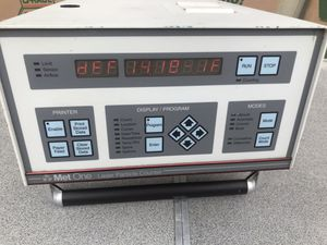 Office Clean Air Met One Airborne Laser Particle Counter A2408-1-115-1, size 0.5um@1cfm for Sale in Raleigh, NC