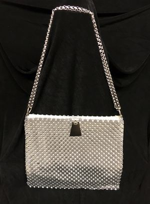 Vintage Whiting and Davis silver mesh evening bag for Sale in West Palm Beach, FL
