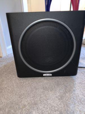 Polk Audio PSW125- Black Speaker for Sale in Virginia Beach, VA