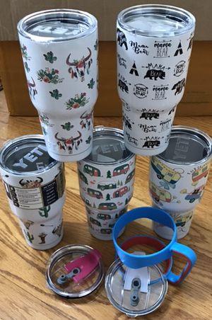 New 30oz yeti rambler coffee mug coolers multiple option for Sale in Matthews, NC