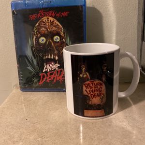 Return of the Living Dead (Blu-ray Disc, 2011) NEW w/faceplate for Sale in Miami, FL