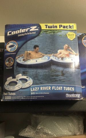 Cooler Z twin pack lazy river float tubes for Sale in Burbank, CA