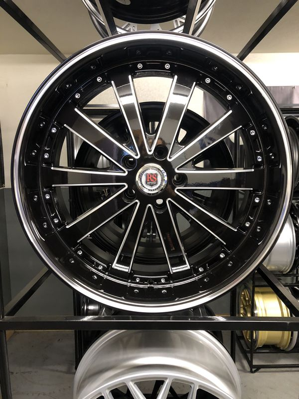 BRAND NEW set (4) Gloss Black 20 inch rims for only $800!!!