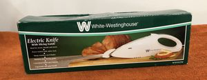 White Westinghouse Electric Carving Knife (Model WWEK2W) - Cash & Carry or will Ship for Sale in Athens, PA