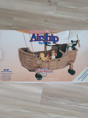 VERY RARE Teddy Ruxpin Airship for Sale in Auburn, WA