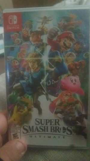 Super smash bros ultimate for Nintendo switch for Sale in Cleveland, OH