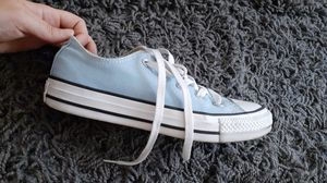 Converse baby blue shoes. Good condition. Size 6 for Sale in Chicago, IL
