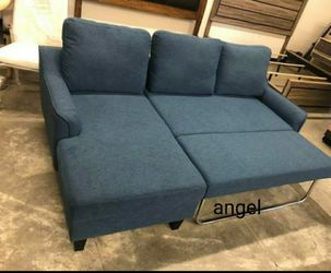 $39 Down Payment 💳Financing available 🛒Jarreau Blue Sofa Chaise Sleeper 115 for Sale in Silver Spring,  MD