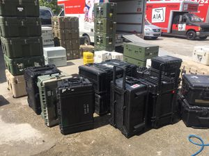 Heavy duty Pelican and touring cases for Sale in Vero Beach, FL