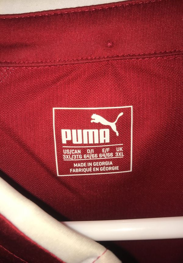 9b0535602da Puma Arsenal Soccer Jersey (3XL) (Fits like a 3XLarge in US) easy ...
