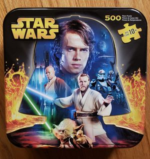 Star Wars 500 Piece Puzzle Milton Bradley Game Like New for Sale in Chicago, IL