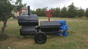 Texas Tech Smoker on trailer 900.00 FIRM for Sale in Lubbock, TX