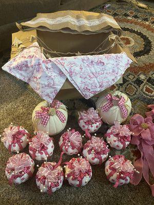 Pumpkins - pink polka dot for Sale in Mebane, NC