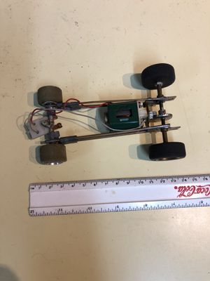 Slot car frame and motor for Sale, used for sale  Snohomish, WA