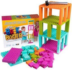 Brik Buster by Strictly Briks Tower Toppling Game with 133 Pieces for Sale in Whittier, CA
