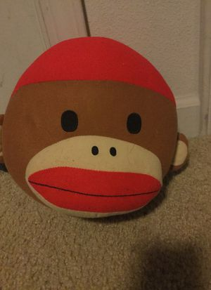 Sock monkey head plushie for Sale in Hillsboro, OR