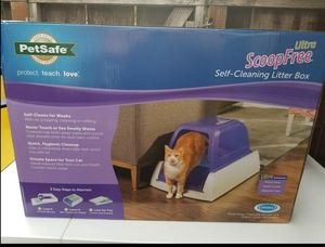 Pet Safe Ultra ScoopFree Self-Cleaning Litter Box for Sale in Modesto, CA