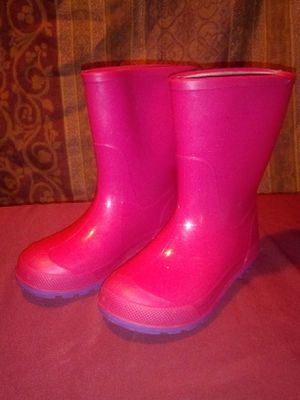 Girl's Rain Boots Sz 9/10 for Sale in Kennedale, TX