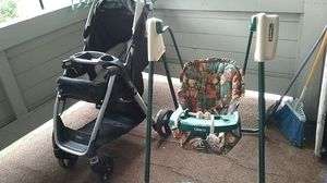 Stroller and stand for Sale in West Jordan, UT
