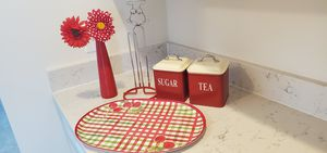 Red Kitchen accessories for Sale in Plain City, OH