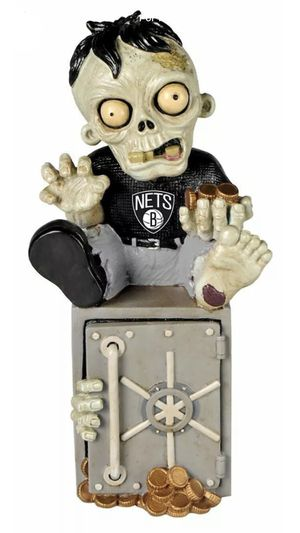 Brooklyn Nets NBA Basketball Team Zombie Statue Figurine Forever Collectibles - BRAND NEW! for Sale in Orangevale, CA